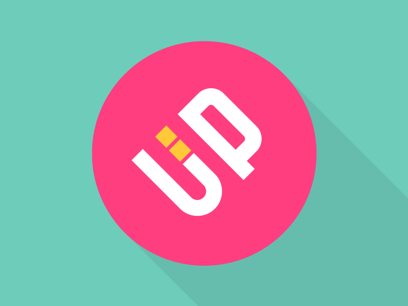 UPii Logo video animation design motion process logo mark construction greyscale color logotype frame rate sequence final option final brand identity digital brand book company style guide color shapes color palette branding project