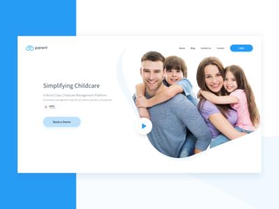 Parent ApS Landing Page Redesign