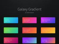 Galaxie gradient