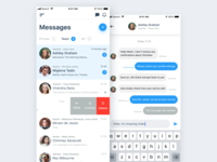 Messages App UI Design