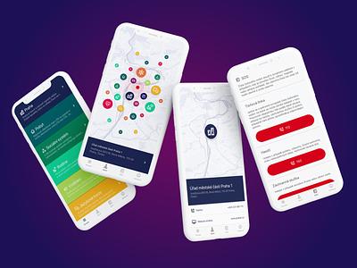 Praguer mobile app design ux ui design uiux ui app design