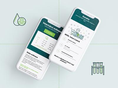 vetmnisek.cz website veterinary webdesign web ux ui ui design