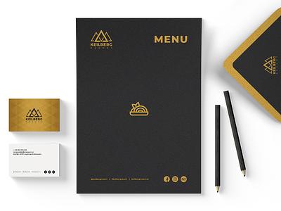 Keilberg Reosrt visual identity hotel design ui design ui webdesign web graphic design corporate design logo branding
