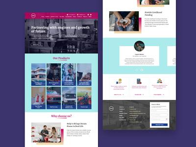 Finance Company webdesign ux design uxdesign ux uidesign uiux ui corporate finance redesign