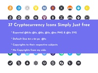 Cryptocurrency Icon Pack