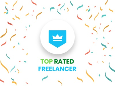 Freelancer Top Rated minimal android app design uxdesign ui  ux uiux graphicdesigner freelancer designer badge dribbble top top4shots upwork