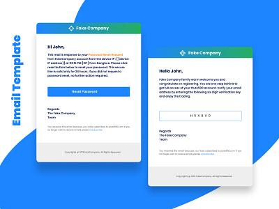 Email Template adobe xd figma ui design ui ux design uxdesign user interface design user interface website design webdesign website b2b saas uidesign uiux email template email design