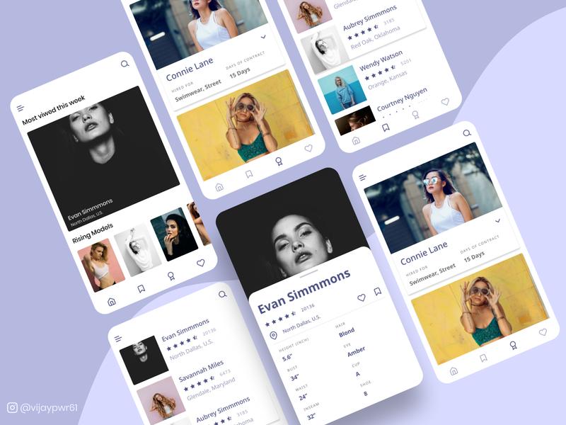 Models Portfolio App