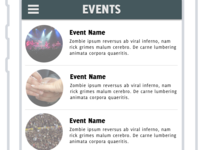 Events list for foto_vent