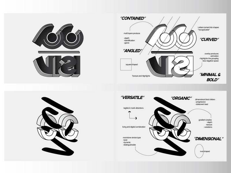 C.C VISI Logos logo design logotype branding and identity branding 3d logo minimal modernism modern logo women in illustration logo abstract design lettering typography shapes concept design illustration