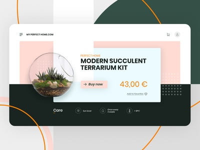 E-Commerce Shop - Terrarium