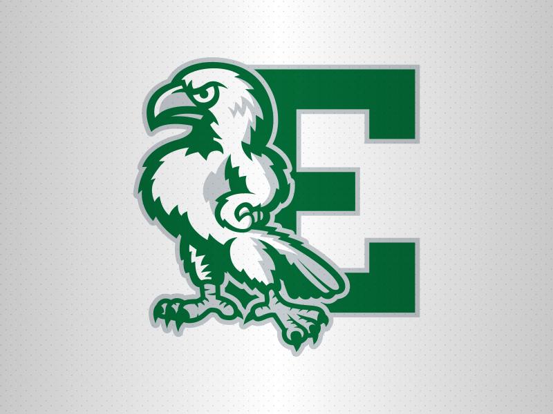 Eastern Michigan Logo Refresh rebrand logo eagles emu