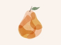 Patched Pear