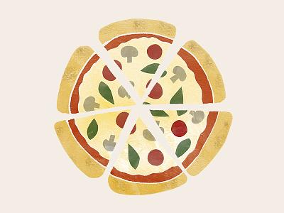Pizza Slices sticker mule illustration food vinnys pie slice slices pizza