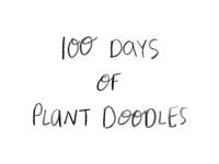100 Days of Plant Doodles