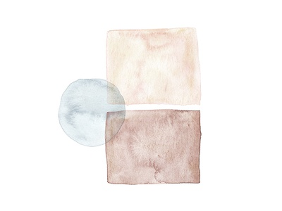 Between abstract painting minimal painting paint shapes watercolor abstract between