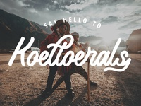Say Hello to Koeltoerals Fonts