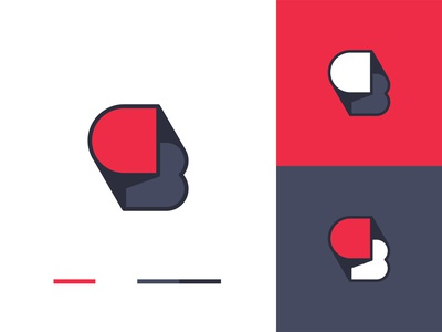 C+B Logo – Color Variations cbd logo minimalist logo lettermark logomark logodesign monogram brand design branding logo design logo