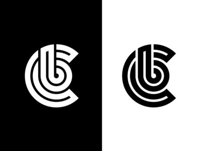 C + B Personal Logo personal branding lettermark monogram logomark logo