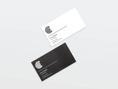 CB Business Card Mockups personal logo logo branding business card mockup