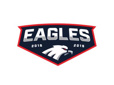 Eagles Sports Logo (Badge) badge eagles sports sports logo logo