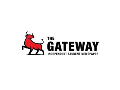The Gateway Logo branding newspaper logodesign logo
