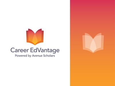 Career EdVantage – Unused Logo Design visual identity logo design branding logo