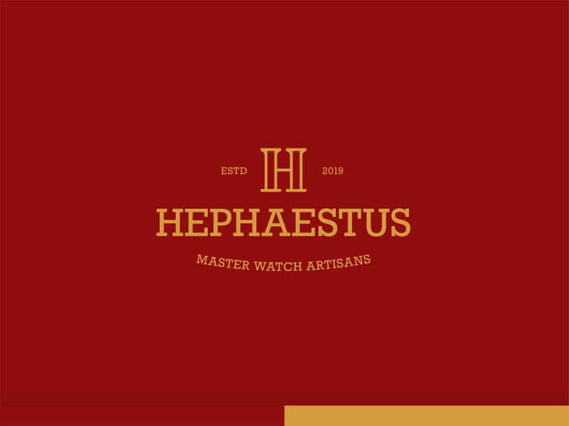 Hephaestus - Logo Design watch company brand design branding logo design logo