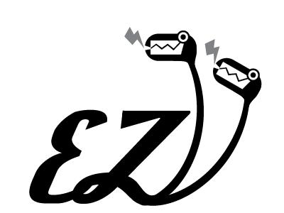Ez Boost el designo vector art logo
