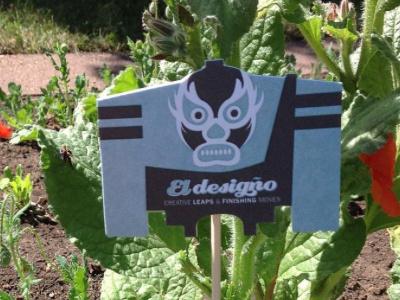 Garden Ed illustration vector businesscard eldesigno