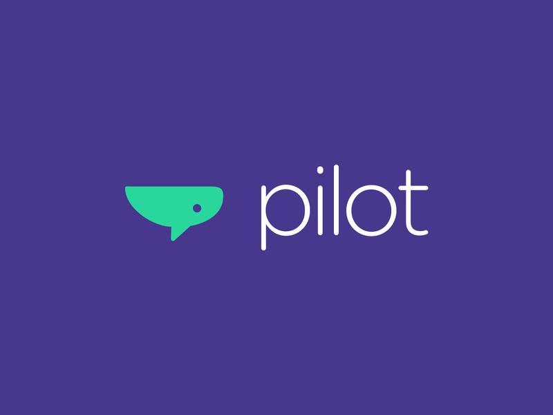 The Etymology of Pilot leader web sketch identity brand identity branding vector type logo design logo