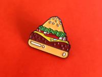 Food Pyramid Pin