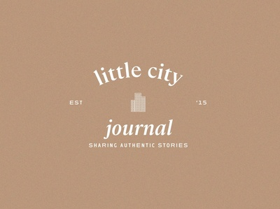 Little City Journal | Primary Logo