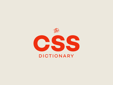 Brand Design | The CSS Dictionary