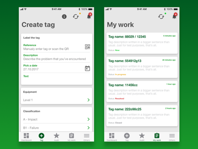 App for Heineken (second part) ux interface user ui app mobile heineken design