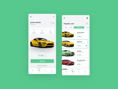 Car Rental Mobile App
