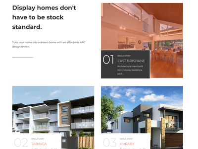 Architectural Review Site Design & Development front end development wordpress web design and development ui design web design sketch ui graphic design design