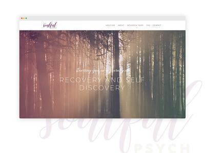 Web Development For the Soulful Psych wordpress web design web development