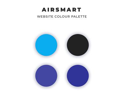 Airsmart Colour Palette color palette refridgeration airconditioning airsmart seo coding web development web design wordpress ui graphic design design
