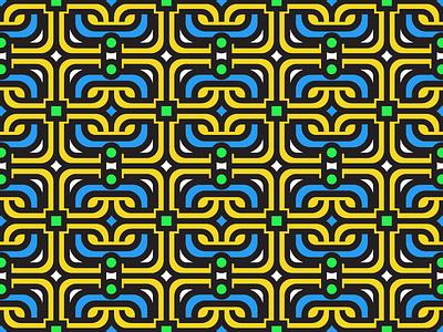 Pattern #4 art gold vector pattern seamless texture color ornate grid illustrator ben pelley