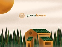 Green House Initiative - Branding & Illustration Exploration