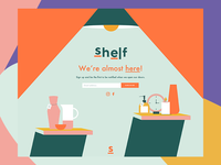 Shelf - Coming Soon Landing Page