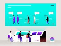 The Lab - Human Centered Design spot illustration