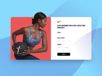 Nike Sign Up
