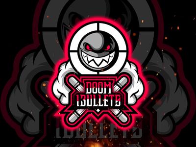 Doom_13ullets Twitch Streamer Logo