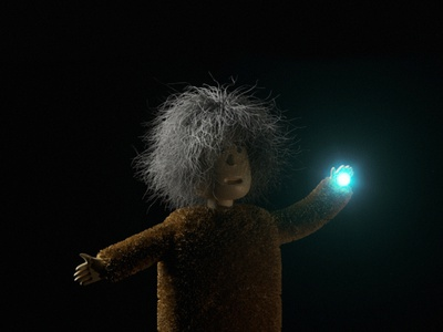 Kuzya in the dark magic mood render 3d c4d vlasuhiro character