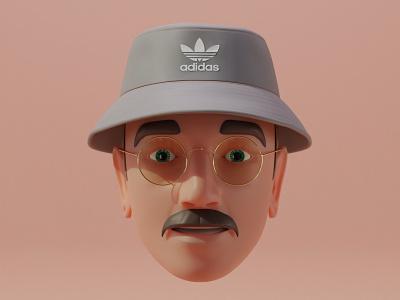 I am memoji redesign - v2 redesign emoji memoji apple character blender render vlasuhiro 3d