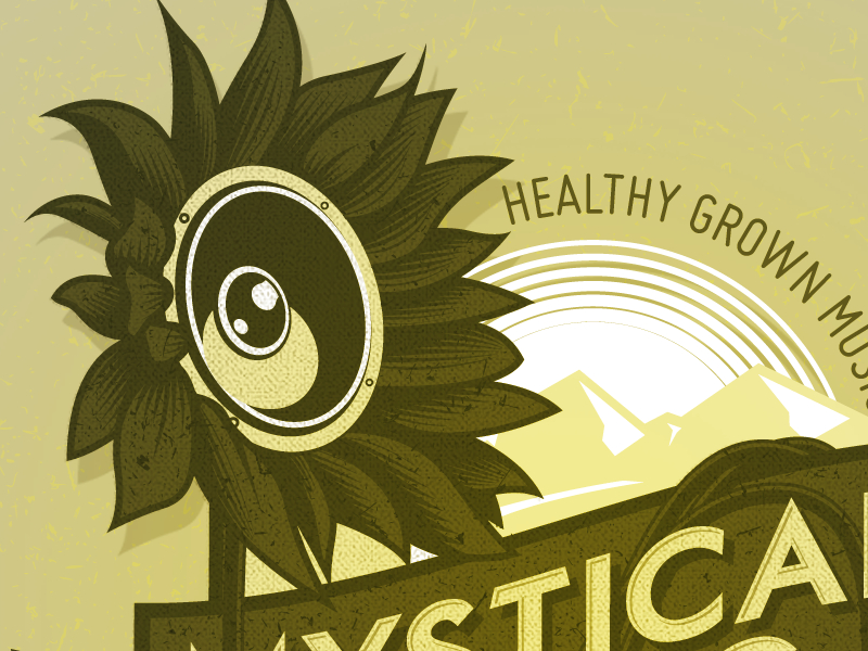 Mystical Rising logotype work artwork design graphic vector lettering letters type typography logo logotype illustration mystical rising dub reggae graphic design mystical rising