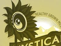 Mystical Rising logotype work