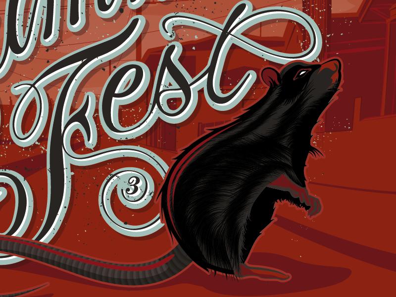 East Summer Fest #3 type typework lettering typography letters artwork design graphic vector illustration east summer fest maztrone graphic design